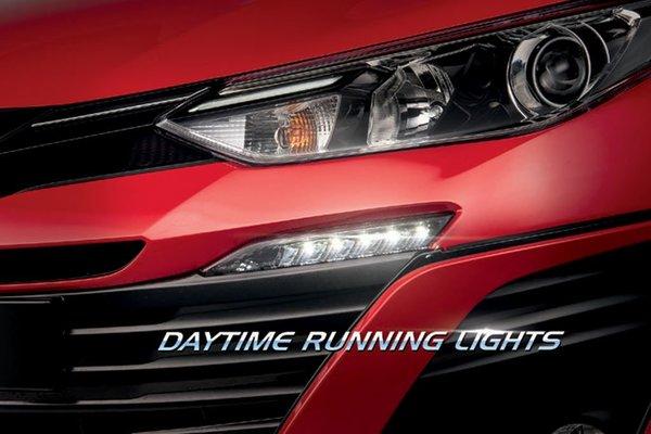 Toyota Vios front light design