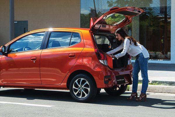 Toyota Wigo cargo space