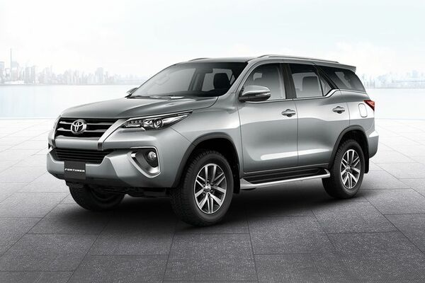 Toyota Fortuner the look