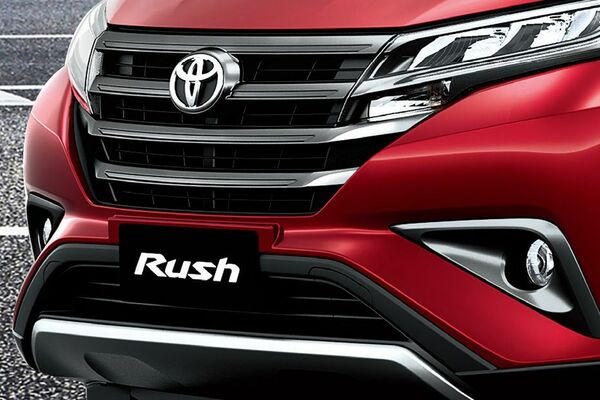 Toyota Rush 2019 front grille