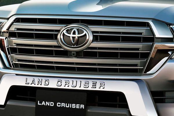 Land cruiser front end