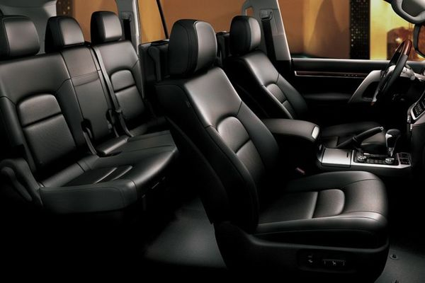 Land cruiser interior