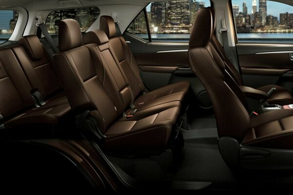 Toyota Fortuner seat
