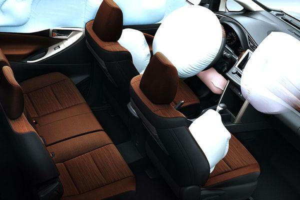 Toyota Innova airbag system