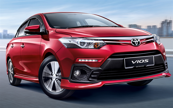 Toyota Vios 2019 front view