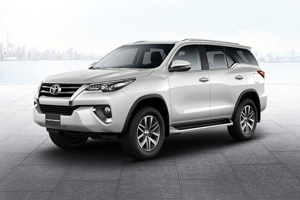 Toyota Fortuner 2019 the look