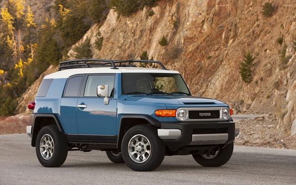 Toyota FJ Cruiser exterior design