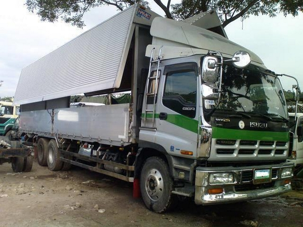 An example of a cargo truck