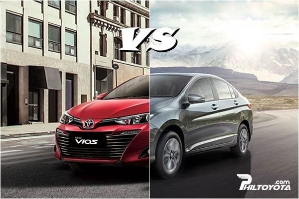 Toyota Vios vs Honda City Philippines