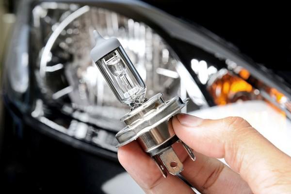 car's headlight