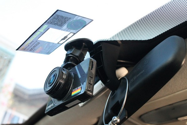 a car is installed with RFID