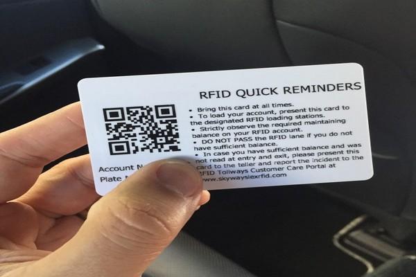 RFID quick reminders