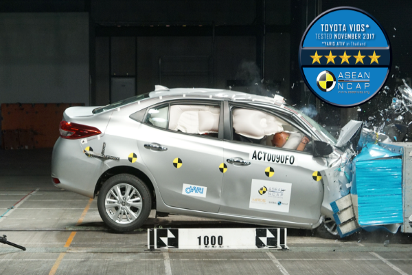 toyota vios safety features