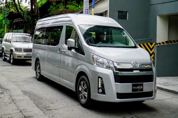 The Toyota Hiace's exterior