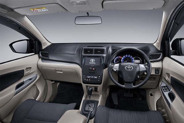 2019 Toyota Avanza dashboard