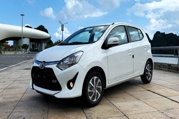 Toyota Wigo 2019 front view