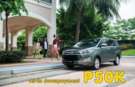 [Toyota promo] Toyota Innova 2.8 E MT Promo: All in Low DP of P50K