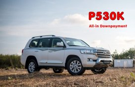 [Toyota promo] Crazy hot deal: Toyota Land Cruiser with All-in DP of P530k