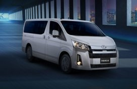 [Toyota promo] Get the Toyota Hiace Commuter with P50,000 discount
