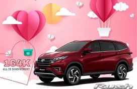 [Toyota Promo] Take the Rush home with 164k All-in downpayment to surprise your valentine!