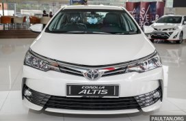 Toyota Altis 2018 Philippines: Price, Specs, Interior, Exterior and More