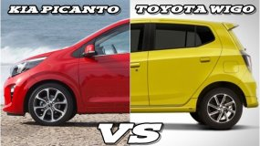Toyota Wigo vs Kia Picanto: Battle of the two most popular city cars