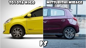 Comparison car review: Toyota Wigo vs Mitsubishi Mirage in the Philippines