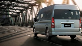 Toyota Hiace seating capacity of all available variants in the Philippines