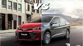 Toyota Vios vs Honda City - The battle between the top sedans