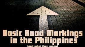 Road lines' meaning in the Philippines - Must be familiar grasp