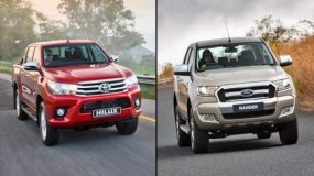 Ford Ranger Vs Toyota Hilux – A Heated Battle In 2020