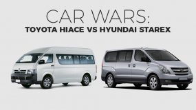 Hiace Vs Starex: A Showdown Between The Two Most Outstanding Vans