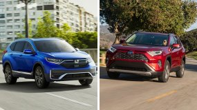 Honda CR-V vs Toyota RAV4: The Two Old-timers Battle!