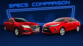 MG 5 vs Toyota Vios: The King Is Under A Threat