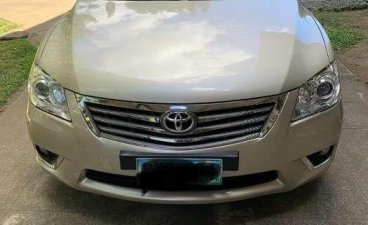 Selling 2011 Toyota Camry 2.4G color gold 62tkm