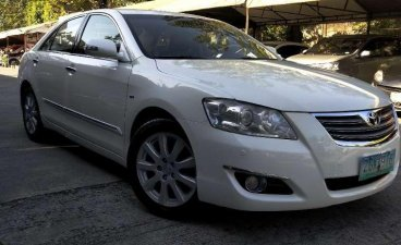 2007 TOYOTA CAMRY Q. 3.5 Automatic white