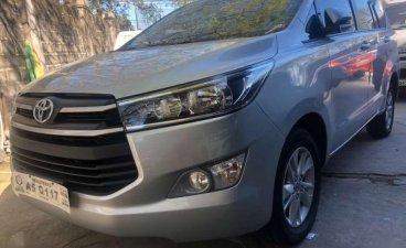 2018 Toyota Innova E Automatic Transmission SILVER