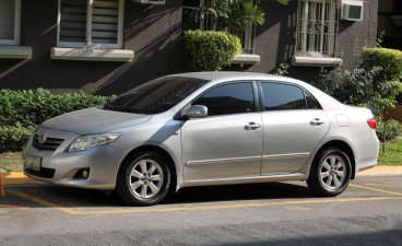 Toyota Corolla Altis 1.6G 2009 Manual Low mileage Car looks like new