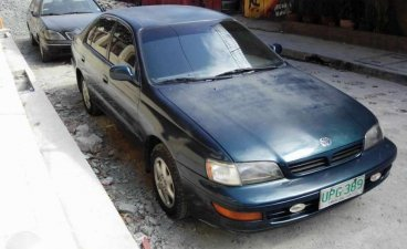 Toyota Corona 1997 manual exsior for sale