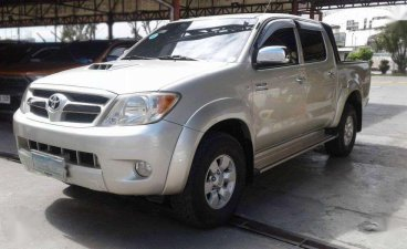 Selling Toyota Hilux 2007 Automatic Diesel in Mandaue