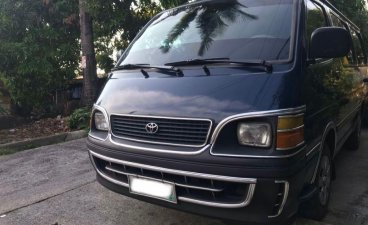 Selling Toyota Hiace 2001 Manual Diesel in Antipolo