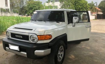 Selling Toyota Fj Cruiser 2018 Automatic Gasoline in Quezon City