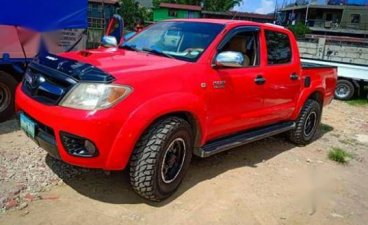 Used Toyota Hilux 2007 Manual Gasoline for sale in Manila