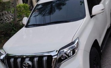 Selling 2nd Hand Toyota Land Cruiser Prado 2010 Manual Diesel at 75000 km in Makati