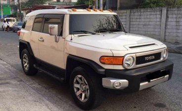 Selling 2nd Hand Toyota Fj Cruiser 2015 in Quezon City