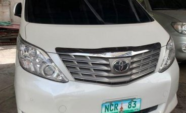 2nd Hand Toyota Alphard 2011 for sale in Quezon City