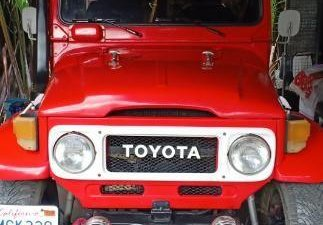 Selling Toyota Land Cruiser 1980 Manual Diesel in Malolos