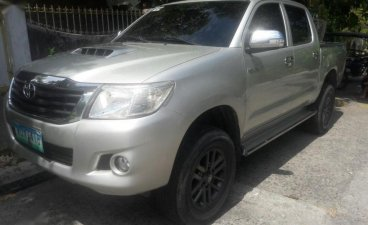 2nd Hand Toyota Hilux 2014 Manual Diesel for sale in Muntinlupa