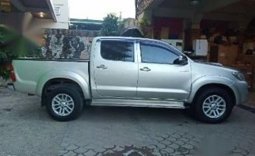 Toyota Hilux 2014 Manual Diesel for sale in Manila