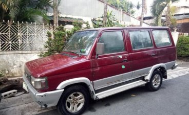 Sell 2nd Hand 1995 Toyota Tamaraw Manual Gasoline at 130000 km in Quezon City